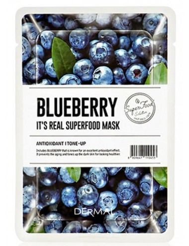 It´s Real Superfood Mask Blueberry - Revitalizante y Antioxidante
