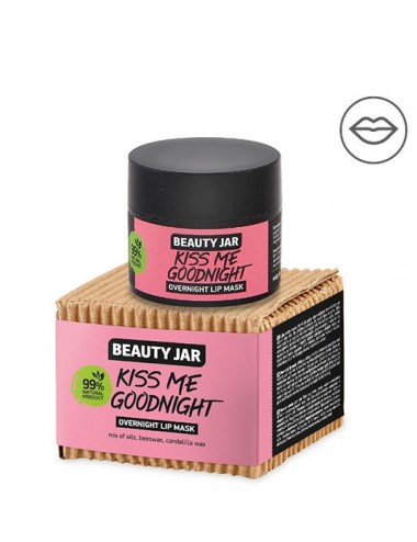 Kiss Me Good Night. Mascarilla Nocturna para Labios.