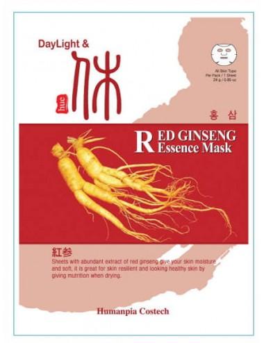 DayLigth & Hue Red Gingseng Essence Mask - Revitalizante e hidratante