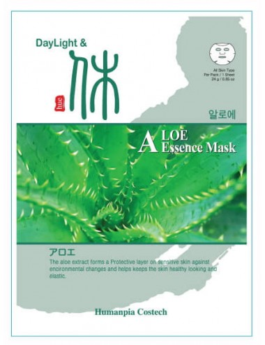 DayLigth & Hue Aloe Essence Mask - Calmante y Regenerante