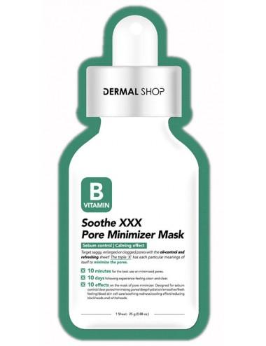 Pore Minimizer Mask Soothe XXX - Piel Grasa y Sensible