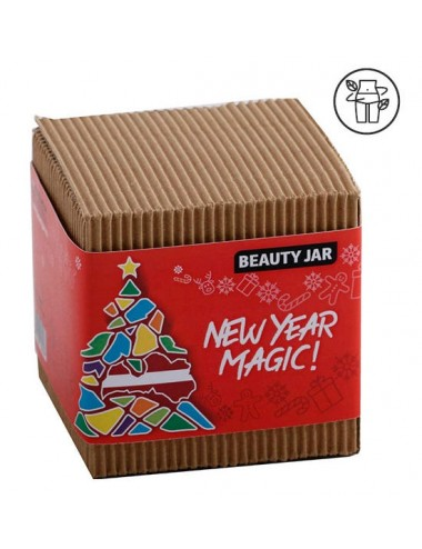New Year Magic. Caja de regalo pelo y cuerpo