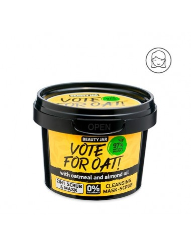 Vote For Oat. Mascarilla exfoliante