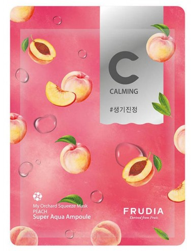 My Orchard Squeeze Mask Peach Calmante e Iluminadora