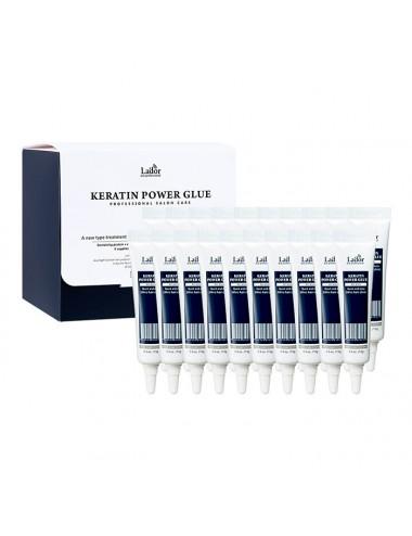 Ampollas de Tratamiento Intensivo para el cabello La'dor Keratin LPP Power Glue 20x15