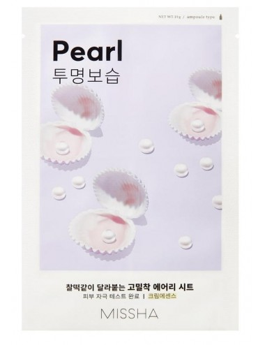 Mascarilla Iluminadora MISSHA Airy Fit Sheet Mask (Pearl)