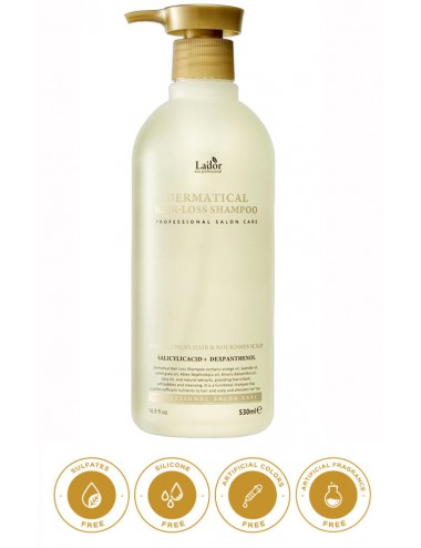 La'dor Dermatical Hair-Loss Shampoo - Champú Anticaida