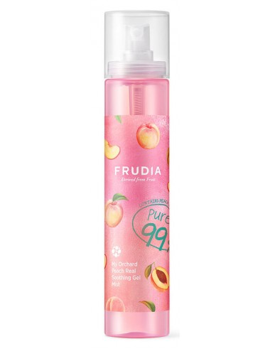 Frudia My Orchard Peach Real Shooting Gel Mist 99% - Bruma Hidratante y calmante