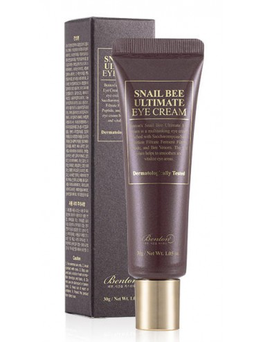 Benton Snail Bee Ultimate Eye Cream Contorno Antiarrugas y Antiojeras