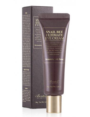 Benton Snail Bee Ultimate Eye Cream Contorno Antiarrugas y Antiojeras