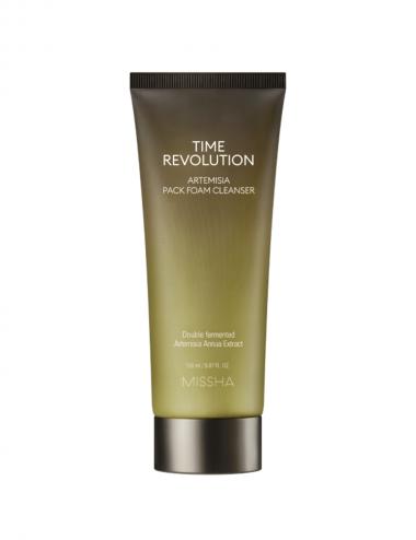 Missha Time Revolution Artemisia Pack limpiador en espuma