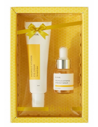 Iunik Propolis Vitamin Eye Cream Set - Contorno + Serum
