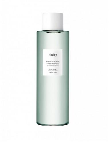 Huxley Cleansing Water, Be Clean Be Moist Agua Limpiadora con hialurónico