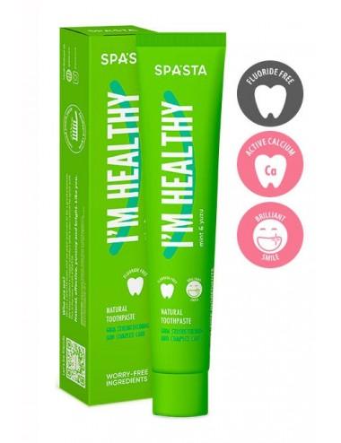 Spasta I'M HEALTHY 90ml - Fortalece esmalte y cuida de las encías