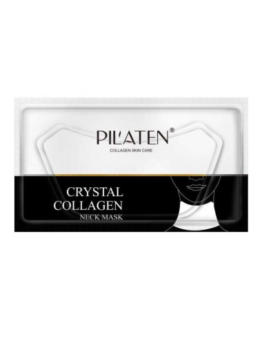 Pilaten Crystal Collagen Neck Mask - Mascarilla de cuello con colágeno