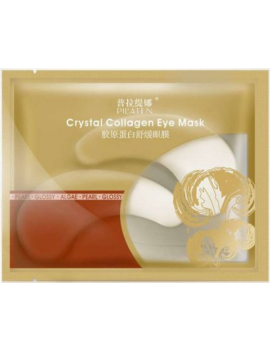 Pilaten Crystal Collagen Eye Mask- Parches contorno de ojos con Colágeno
