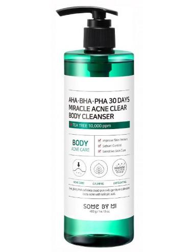 AHA-BHA-PHA 30 Days Miracle Acne Clear Body Cleanser- Limpiador Acné Corporal