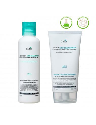 Set Verano Champú y acondicionador Hydro LPP Treatment + Keratin LPP Shampoo