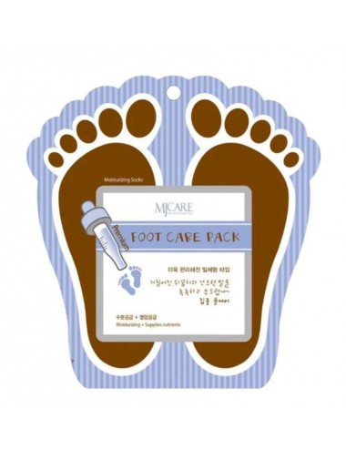 MJCare Foot Care Pack Mascarilla para Pies con Colágeno