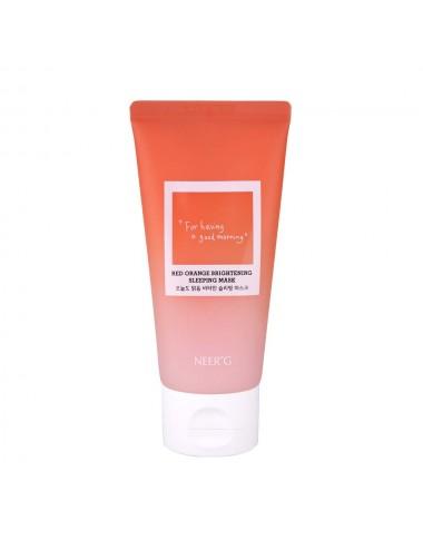 Neerg Red Orange Brightening Sleeping Mask - Mascarilla Nocturna con Vitamina C