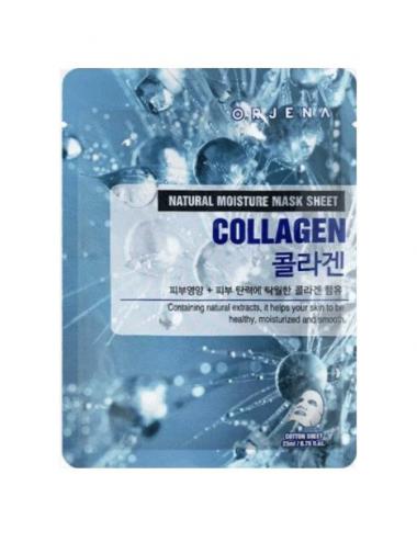 Orjena Natural Moisture Mask Sheet Collagen Mascarilla Reafirmante de Colágeno