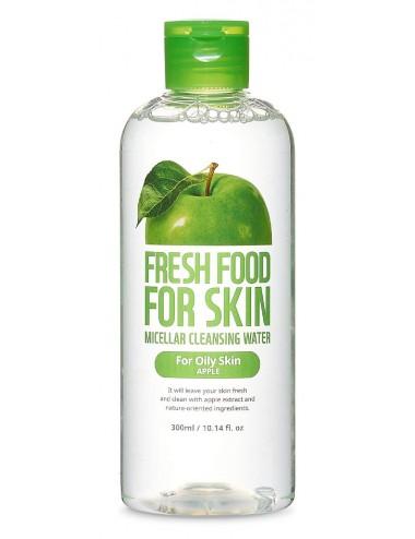 Fresh Food For Skin Micellar Cleasing Water Apple - Piel Grasa