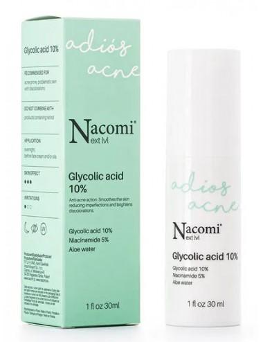 Adios Acné Serum con Glicólico10%, Niacinamida 5% y Aloe Vera