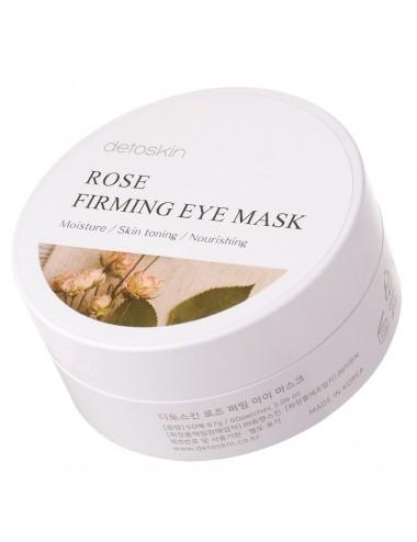 Rose Firming Eye Mask - Parches para el contorno de ojos Antiarrugas y Reafirmantes