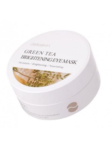 Green Tea Brightening Eye Patch- Parches para el contorno de ojos Antiojeras y Antiedad