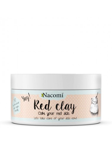 Nacomi Arcilla roja 100% natural