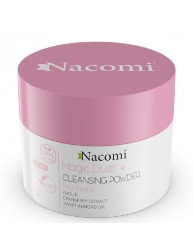 Nacomi Magic Dust Cleansing Powder Brightening Limpiador Facial Iluminador