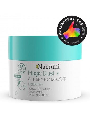 Nacomi Magic Dust Cleansing Powder Detoxfying Limpiador Desintoxicante Facial
