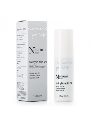 Nacomi No More Pores Serum con Ácido Salicílico 2%