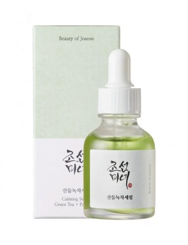 BEAUTY OF JOSEON Green Tea + Panthenol Calming Serum