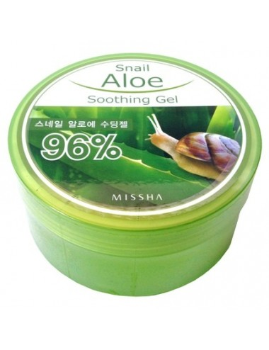 Gel Calmante de Aloe y extracto de Caracol. Missha