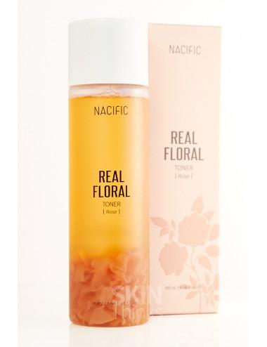 Nueva Versión - NACIFIC Real Floral Toner Rose Tónico con Rosa y Centella Asiática