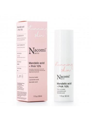 Nacomi Stunning Skin Serum con Ácido Mandélico + PHA 10%