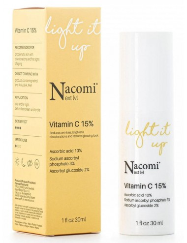 Nacomi Light It Up Vitamina C 15%