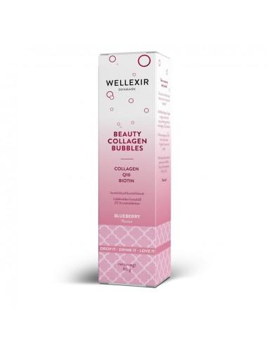 WELLEXIR Beauty Collagen Bubbles. Suplemento con colágeno para piel, pelo y uñas