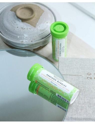 WELLEXIR Perform Bubbles Suplemento con vitaminas B, C y minerales contra el cansancio y fatiga