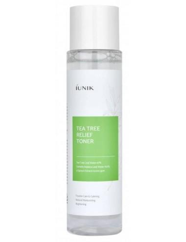 iUnik Tea Tree Relief Toner - Tónico para piel grasa y sensible