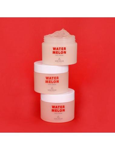 The Skin House Watermelon Face Cream (50ml)- Calmante y Revitalizante