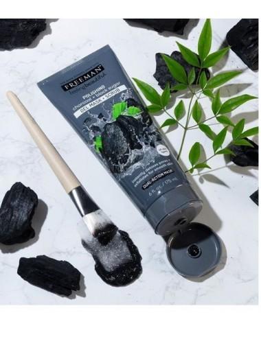 Freeman Polishing Charcoal + Black Sugar Gel Mask & Scrub- Mascarilla y Exfoliante