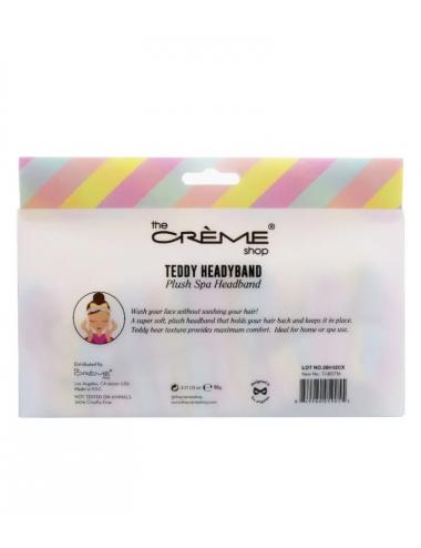 The Crème Shop Teddy Headyband Diadema pastel de rayas