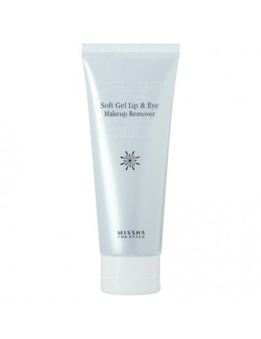 Gel desmaquillante para ojos y labios MISSHA The Style Soft Gel Lip & Eye Makeup Remover