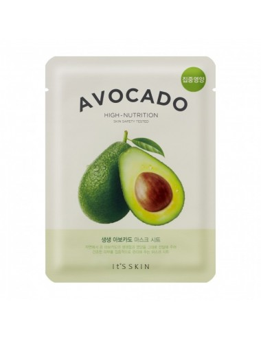 Mascarilla de Aguacate It's Skin - The Fresh Mask Sheet - Avocado 20ml