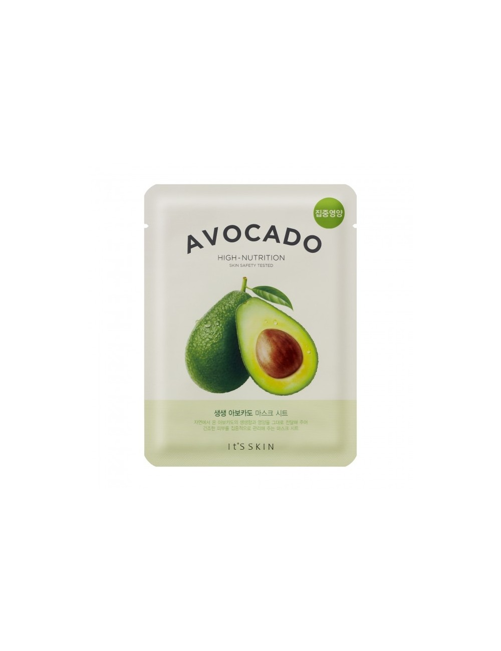 Mascarilla  de Aguacate It's Skin - The Fresh Mask Sheet - Avocado