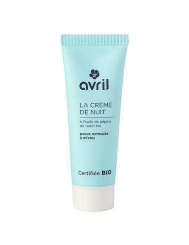 Crema Facial para noche Piel Normal 50ml - Organico Certificado