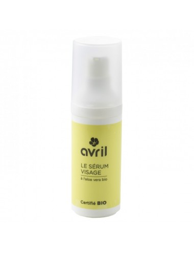Serum Facial Ecologico con Aloe Vera - 30ml - Organico Certificado