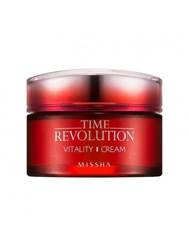 Crema Anti-Edad Revitalizante Missha Time Revolution Vitality Cream - 50ml